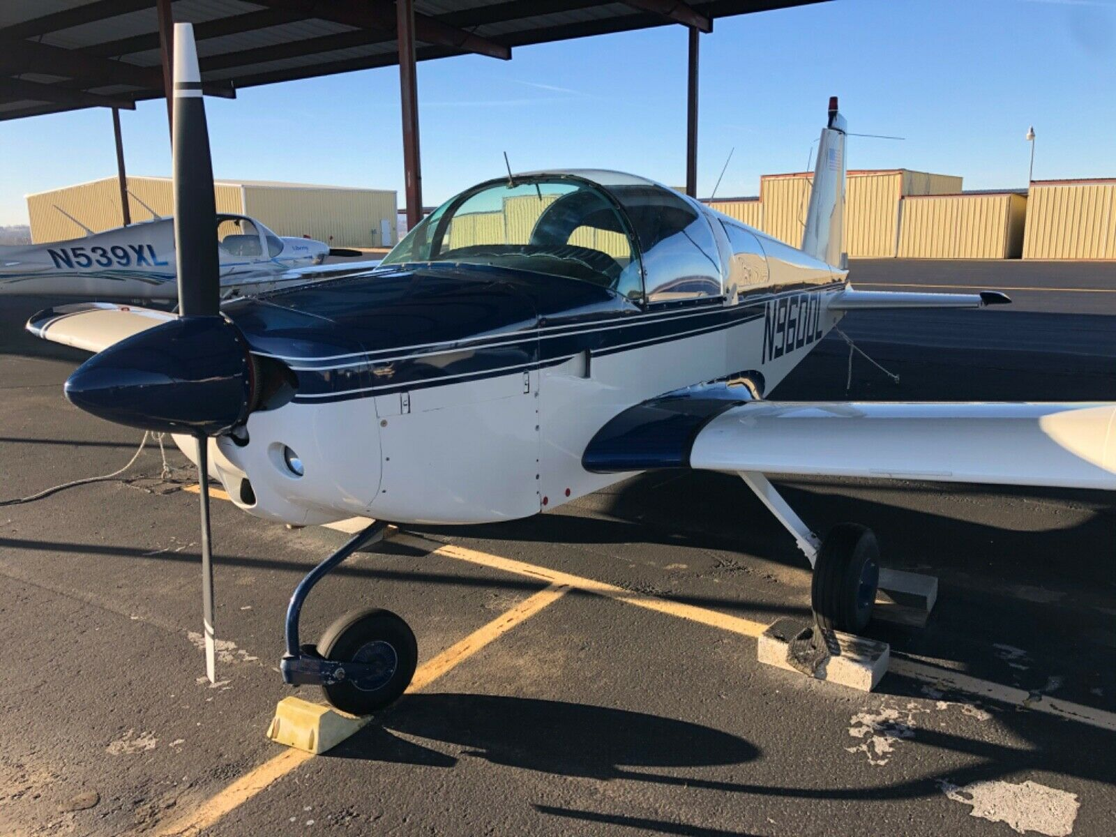 Super Low Time 1973 Grumman AA1 B aircraft for sale