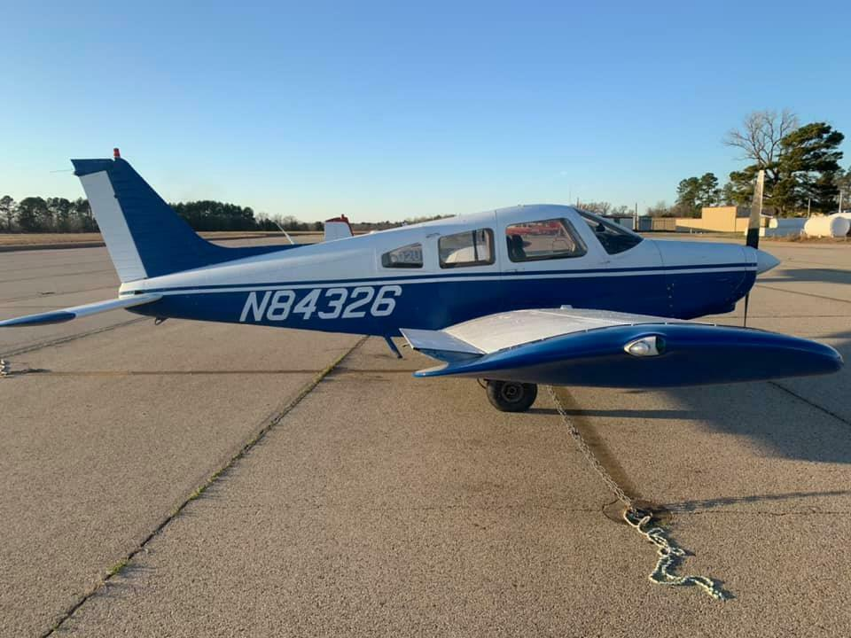 never damaged 1981 Piper Warrior II aircraft for sale