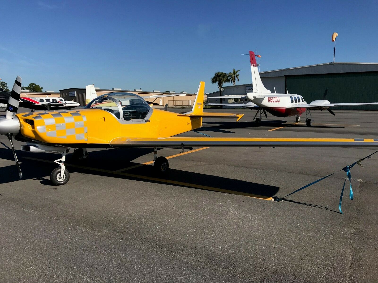 Aerobatic 1996 Slingsby Firefly Model T67 M260 aircraft