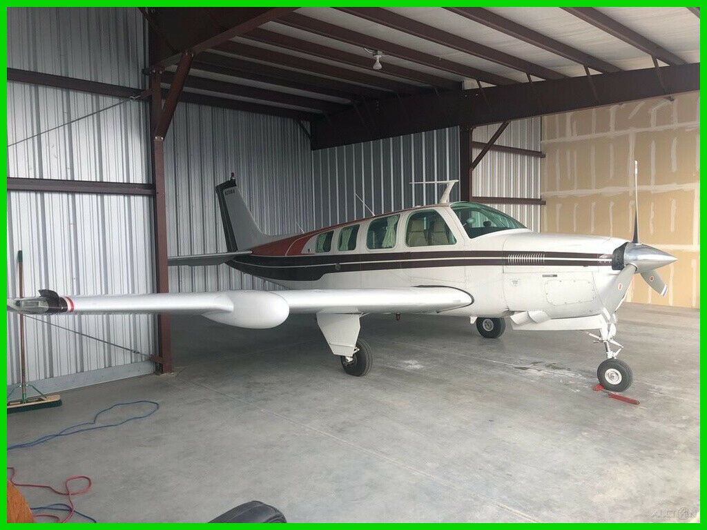 hangared 1978 Beechcraft A36 Bonanza aircraft