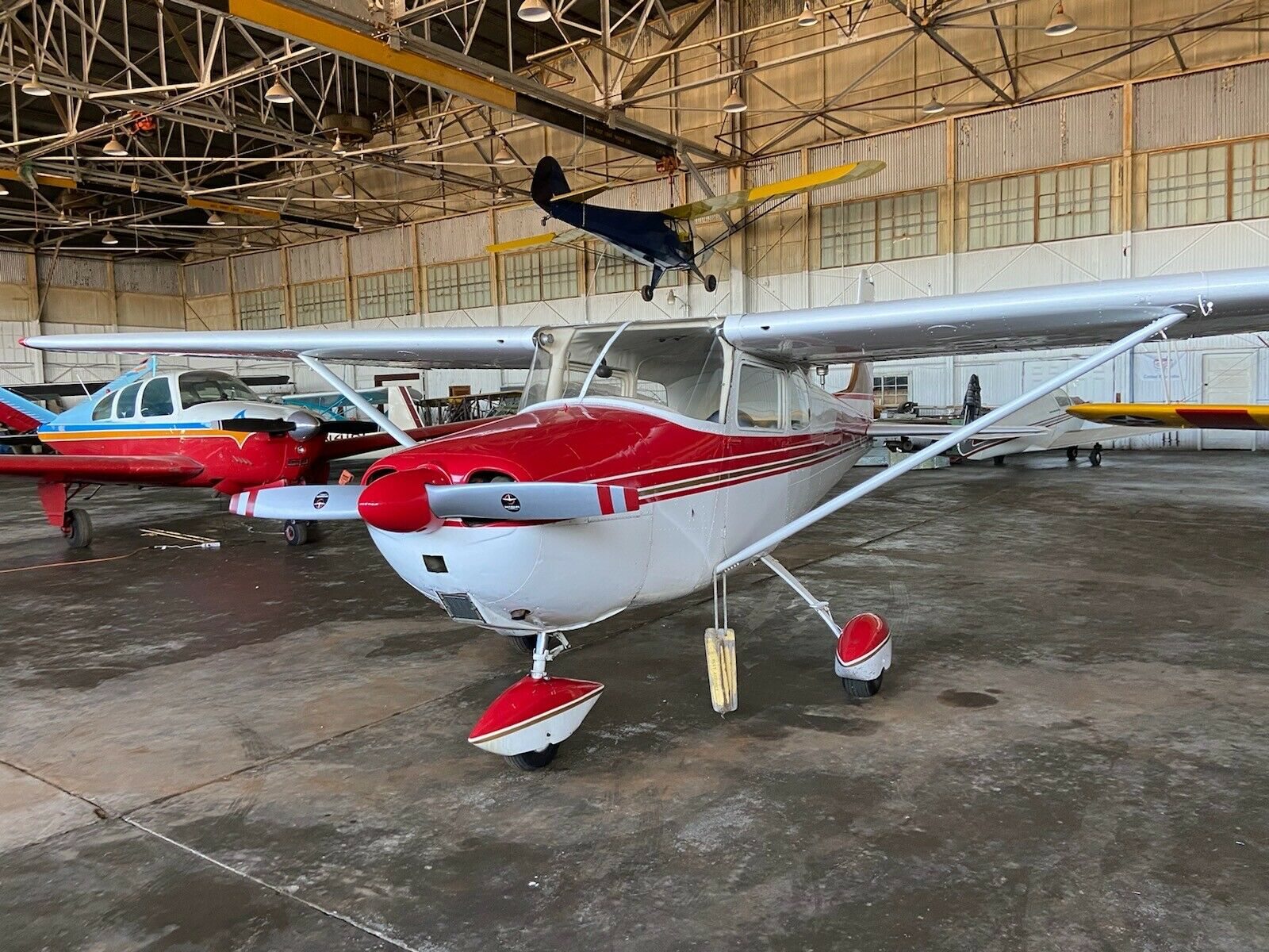 light hail 1956 Cessna 172 Straight Tail aircraft for sale