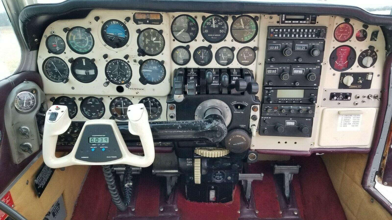 low time 1970 Beechcraft Baron B55 aircraft