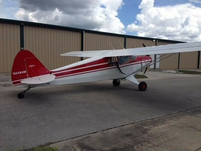 restored 1947 Piper PA 12 Supercruiser aircraft