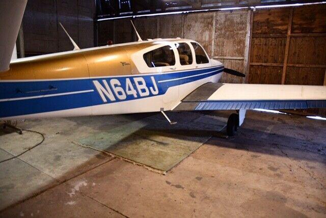 very nice 1964 Beechcraft Bonanza aircraft