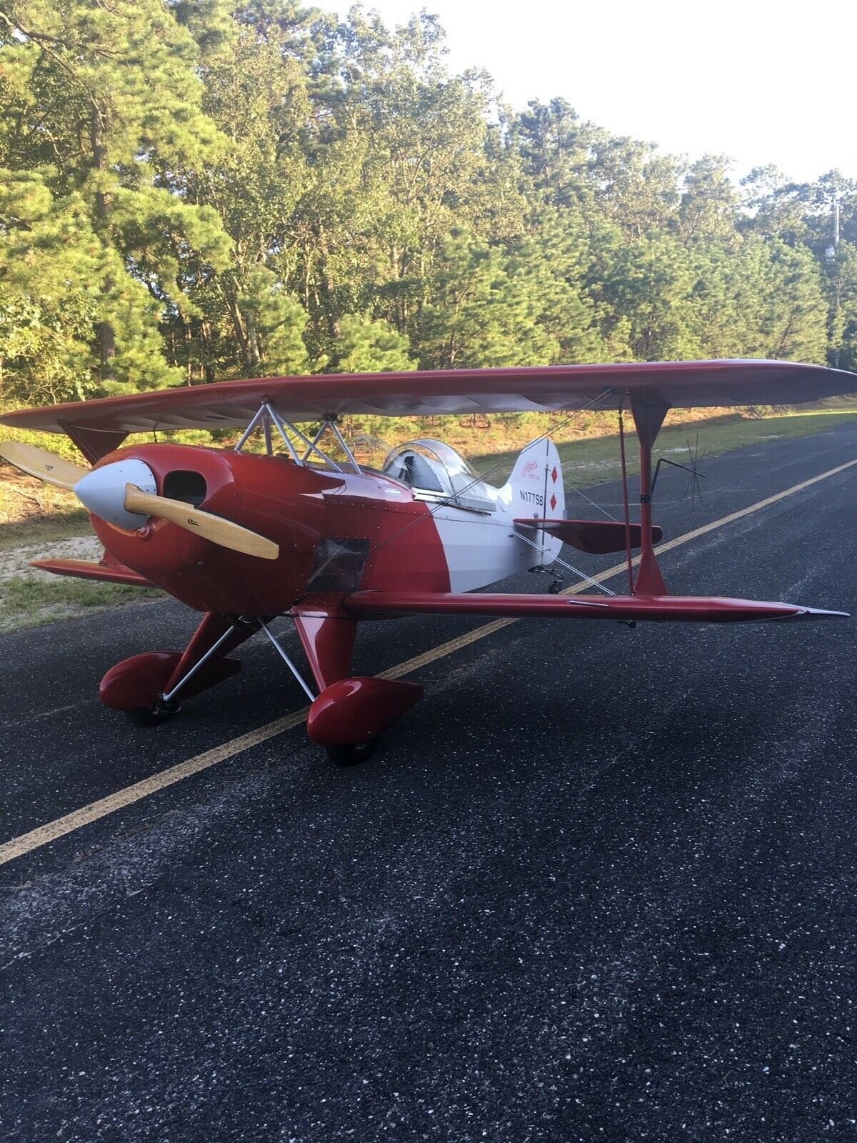 very nice 1990 Pitts s1s 435 aircraft