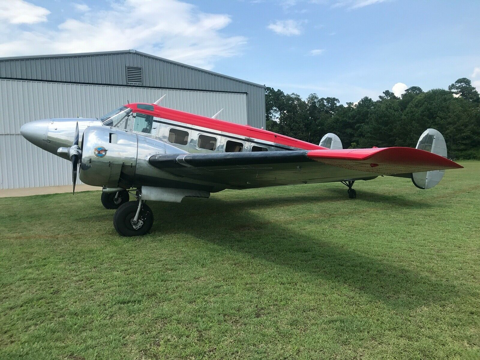 beautiful 1957 Twin Beech E18s aircraft for sale