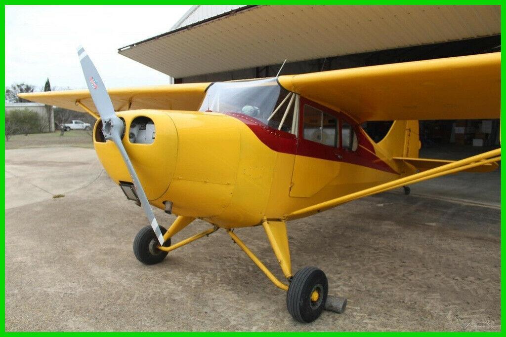 fully restored 1946 Aeronca 11 CC Super Chief aircraft