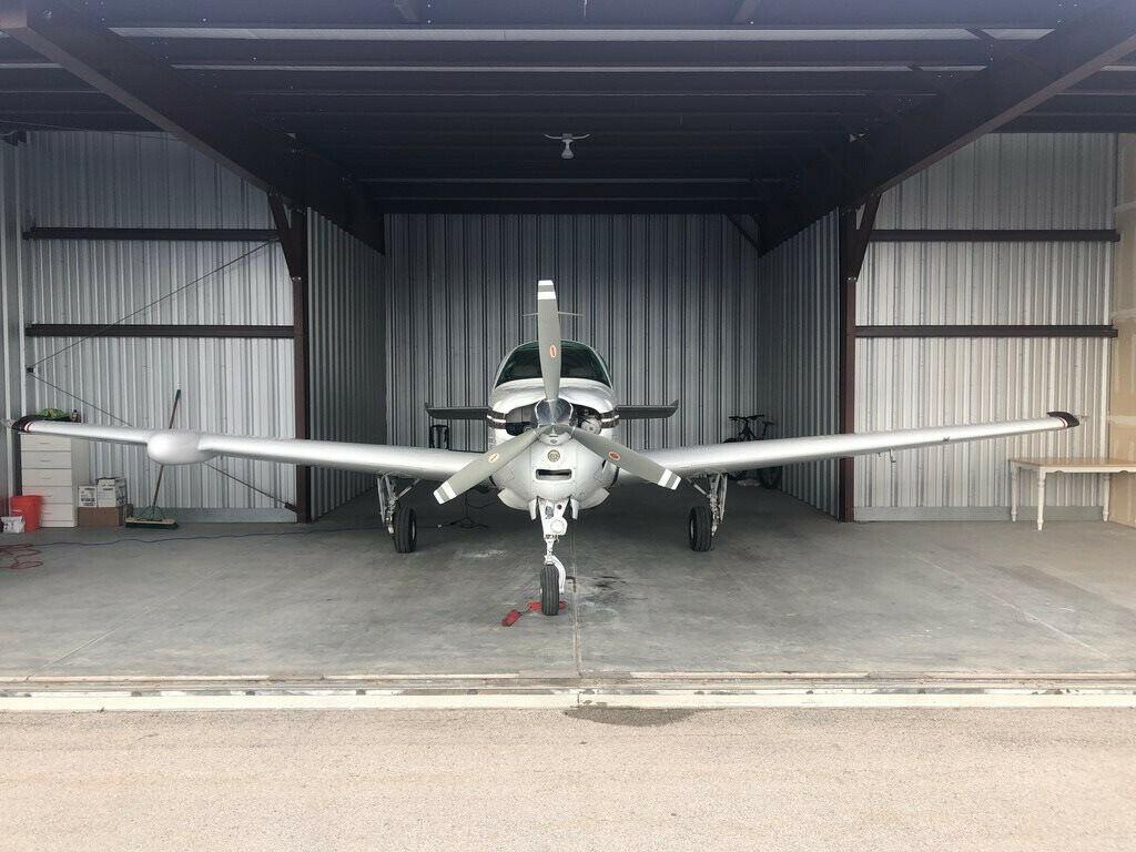 hangared 1978 Beechcraft A36 Bonanza aircraft