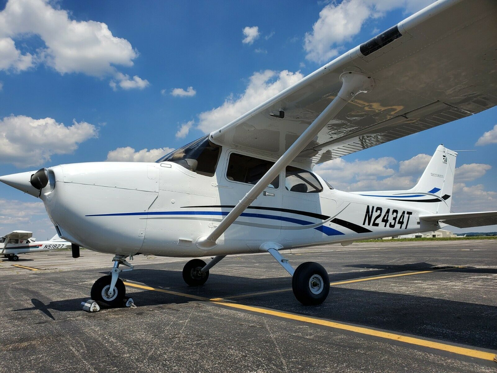 no damage 2006 Cessna 172R aircraft for sale