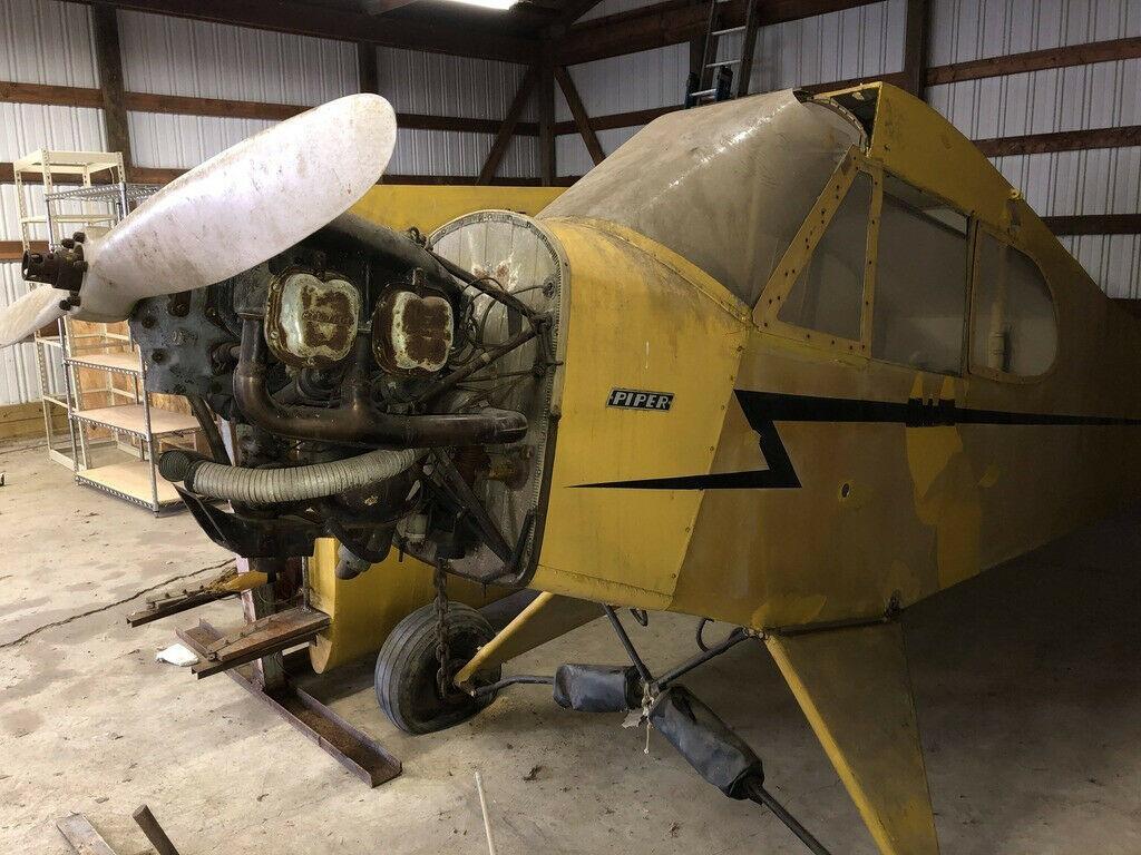 project 1940 Piper J3 Cub aircraft