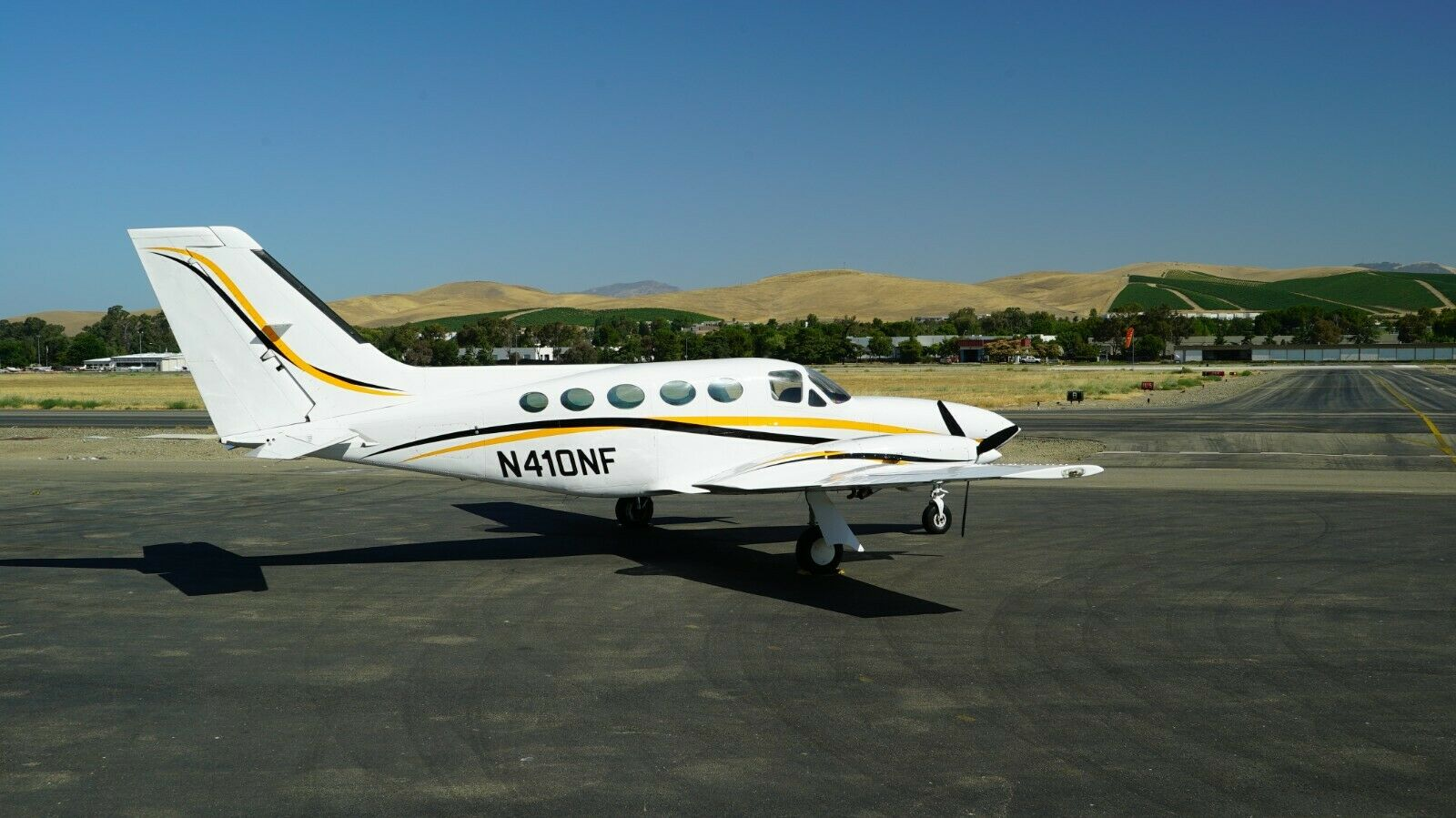 well serviced 1978 Cessna 414A aircraft for sale