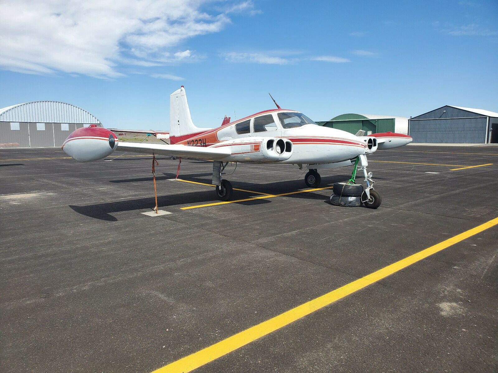 airframe 1956 Cessna 310 aircraft for sale